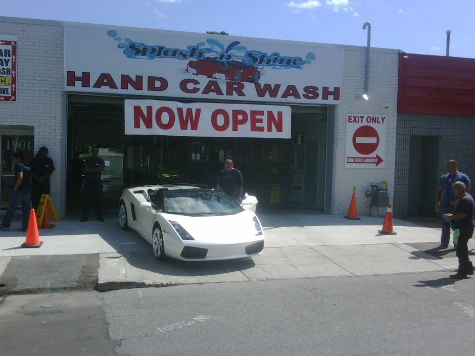 Splash and shine car wash and detailing east york toronto hand splash n shine car wash inc solutioingenieria Choice Image