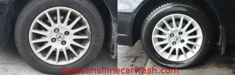 acura rim before after